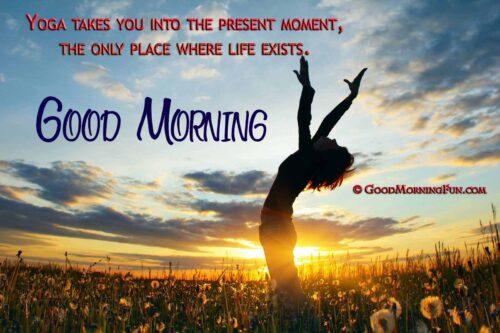 Beautiful Morning Yoga Quotes