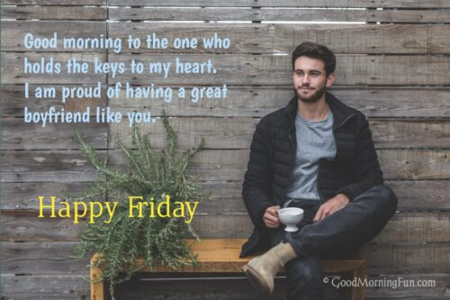 Friday Wishes for Girl Friend