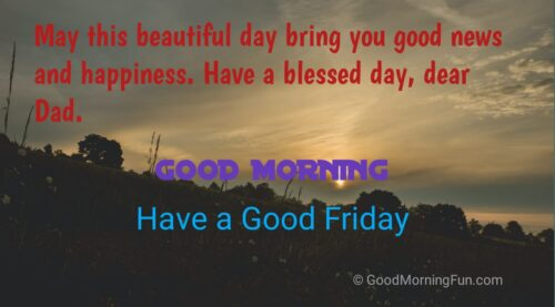 Good Morning Friday Images for Father