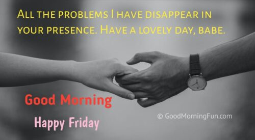 Good Morning Friday Images for Wife