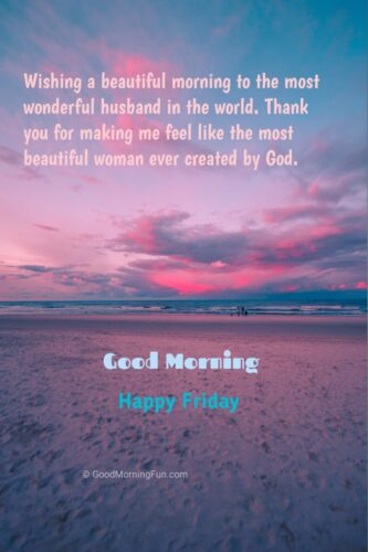 Happy Friday Wishes for Husband