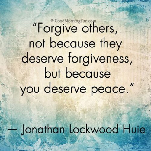 Forgive and peace quotes