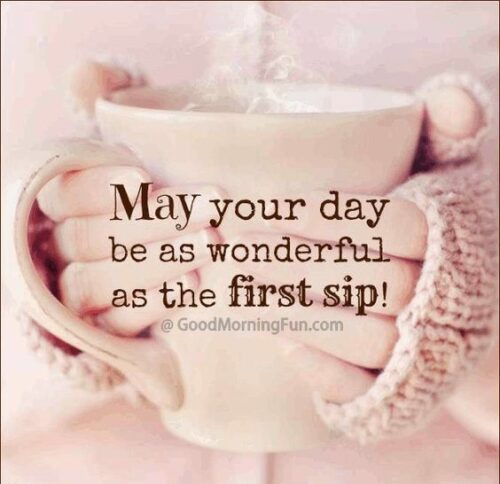 May your day be wonderful