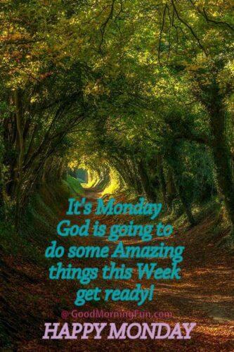 Happy Monday Quote on God