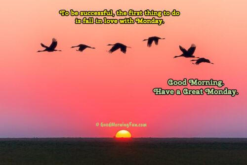 Love Monday Quotes