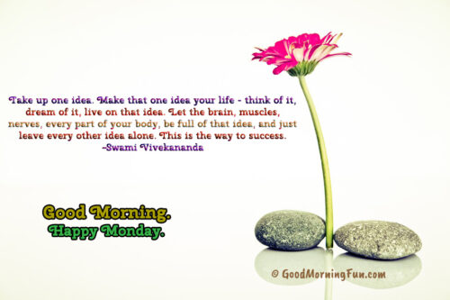 Swami Vivekananda Positive Morning Monday Quotes