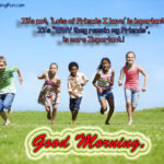 Good Morning With Friendship Quotes