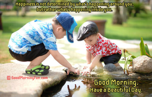 Good Morning Happiness Quotes