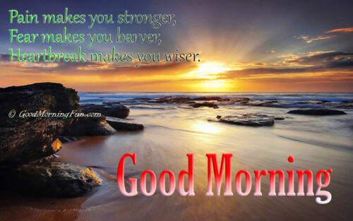 Good Morning Quotes to be Brave, Strong and Wiser