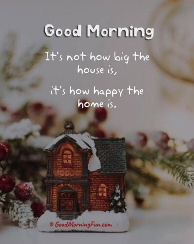 Happy Home - Good Morning