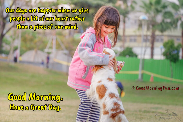 Good Morning Quotes on Kindness