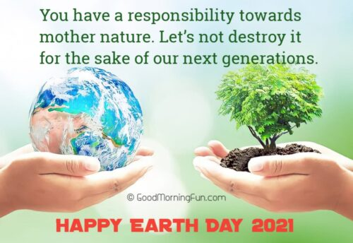 Don't Destroy Earth Quote