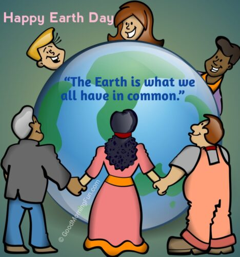 Earth is common for all message