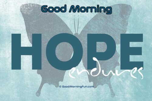 Hope Good Morning Quote