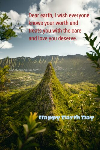 Love the earth quote