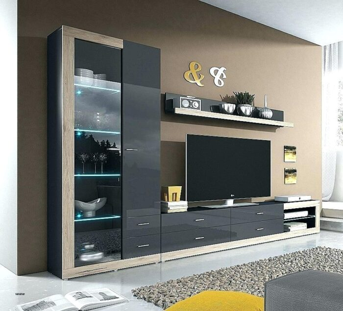 Modern style tv unit design for living room