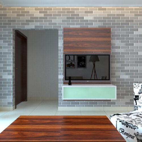 Simple Compact TV Cabinet