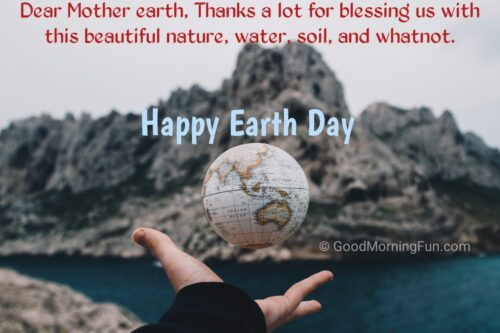 Thanks Mother Earth Day Messages