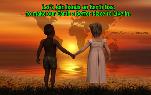 Save Earth - World Earth Day Quotes - Messages