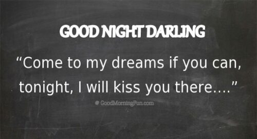 Cute Good Night Quote for Her