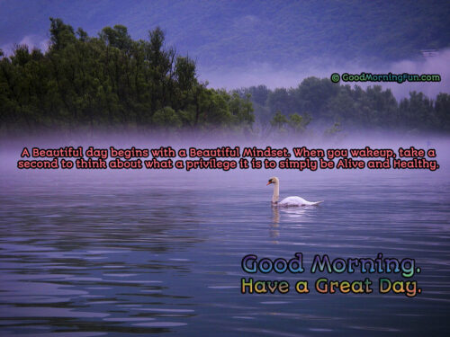 Good Morning Health Quotes