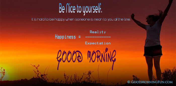 Be Happy Good Morning Quotes