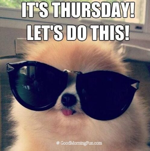 It's Thursday lets do this quotes