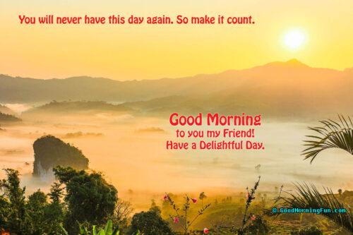 Beautiful Good Morning Sunrise Quotes