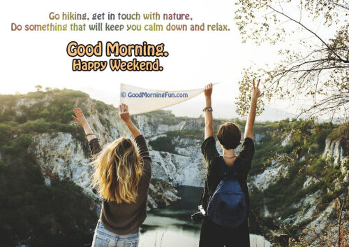 Calm Down and Relax Weekend Quotes