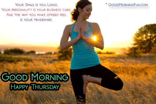Good Morning Encouraging quotes on Personality