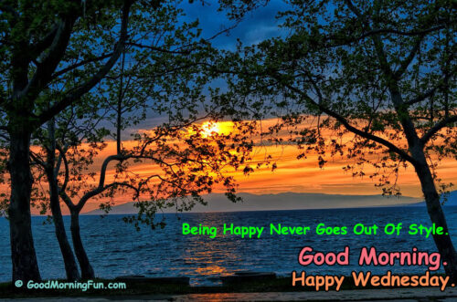 Good Morning Wednesday - Happiness Quotes