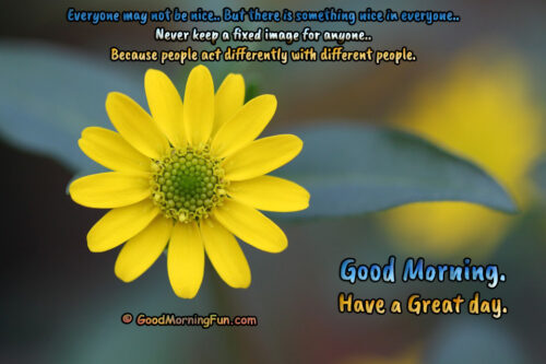 Good Morning Wishes About People