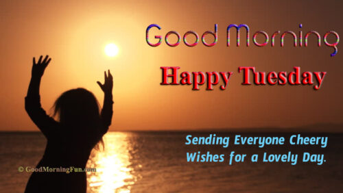 Happy Tuesday Morning Cheerful Quotes