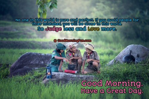 Love more Good Morning Wishes