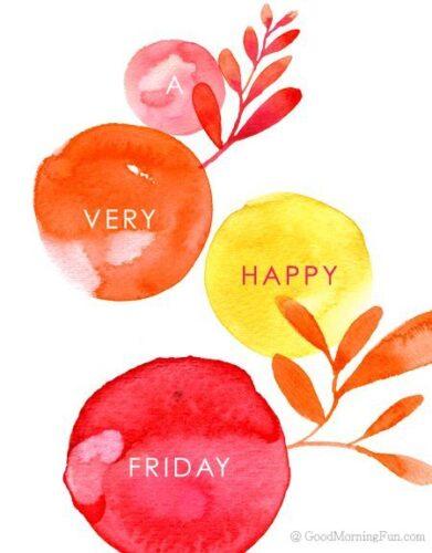 Very Happy Friday