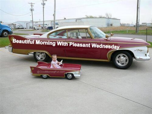 Beautiful morning with pleasant Wednesday