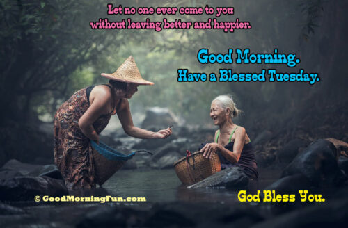 Blessing for Tuesday - God Bless Quote.