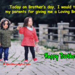 100+ Brothers Day Wishes & Quotes - Caption For Brother