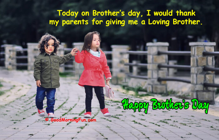 Brothers Day Wishes & Quotes