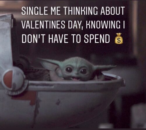 Funny Me on valentines day meme