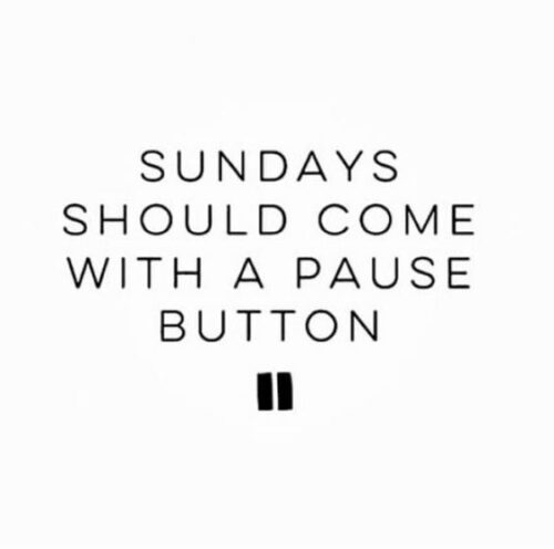 Funny Sunday Quote