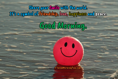 Good Morning Smile Quotes - Emoji