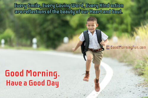 Good Morning Smile Quotes-Recovered