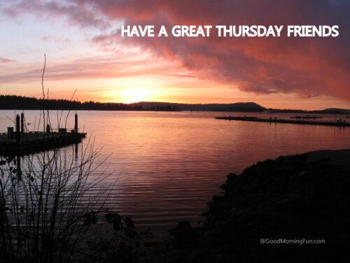 Good Morning Thursday Friends