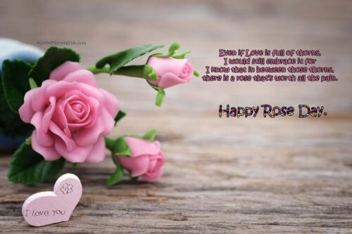 Happy Rose Day Love Quotes