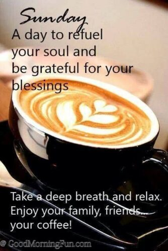 Have a relax Sunday wishes