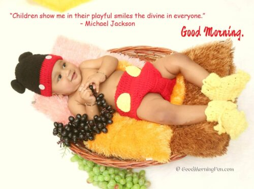 Smile Michael Jackson Quote - Good Morning