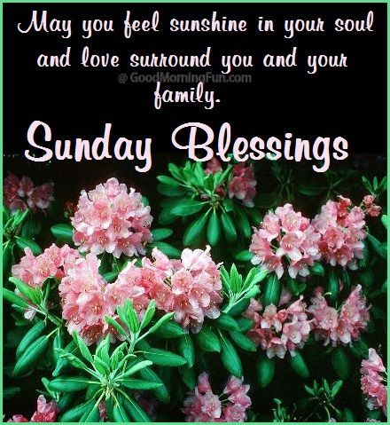 Sunday Morning Quotes Blessings