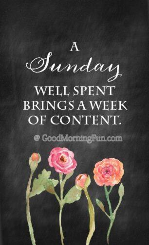 Sunday wishes