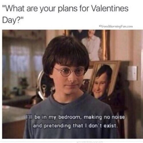 Your plans for valentines day